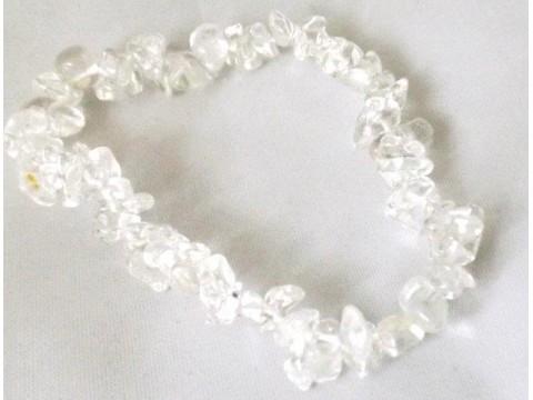 Splitter Armband Bergkristall