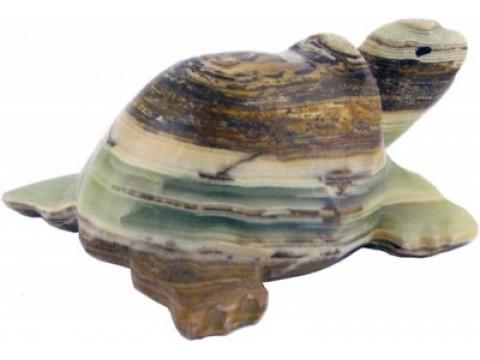 Onyx-Marmor Schildkröte